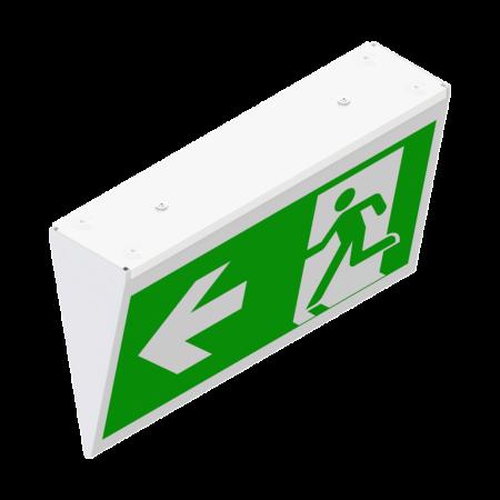 LED-Fluchtweg Symbol-Leuchte mit Plexi